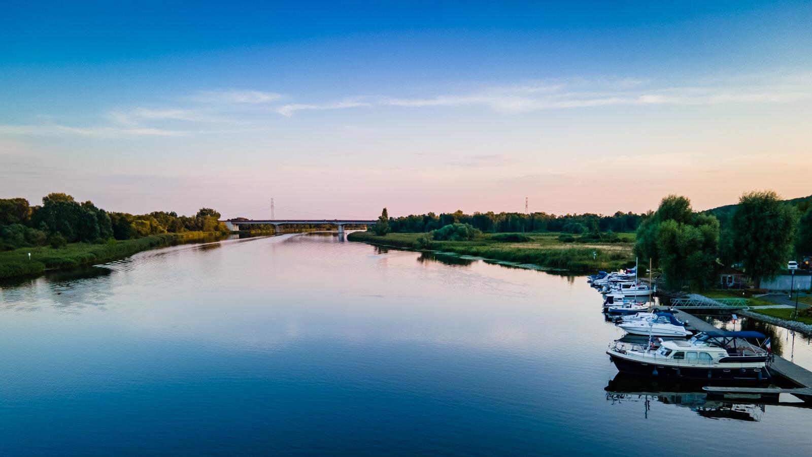 zdjęcia z drona Szczecin